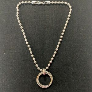 Silpada 5mm bead chain only. Retired, hard to find